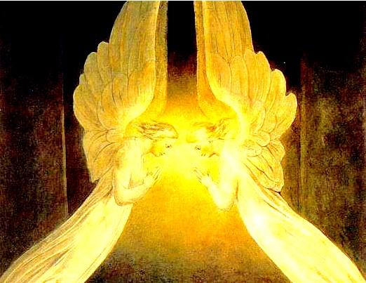 Détail archanges au sépulchre