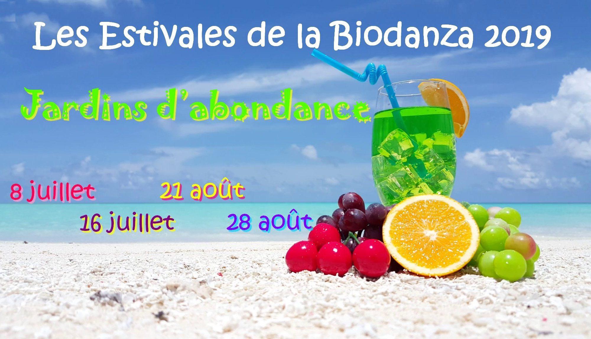 Estivales Biodanza Bruxelles 2019