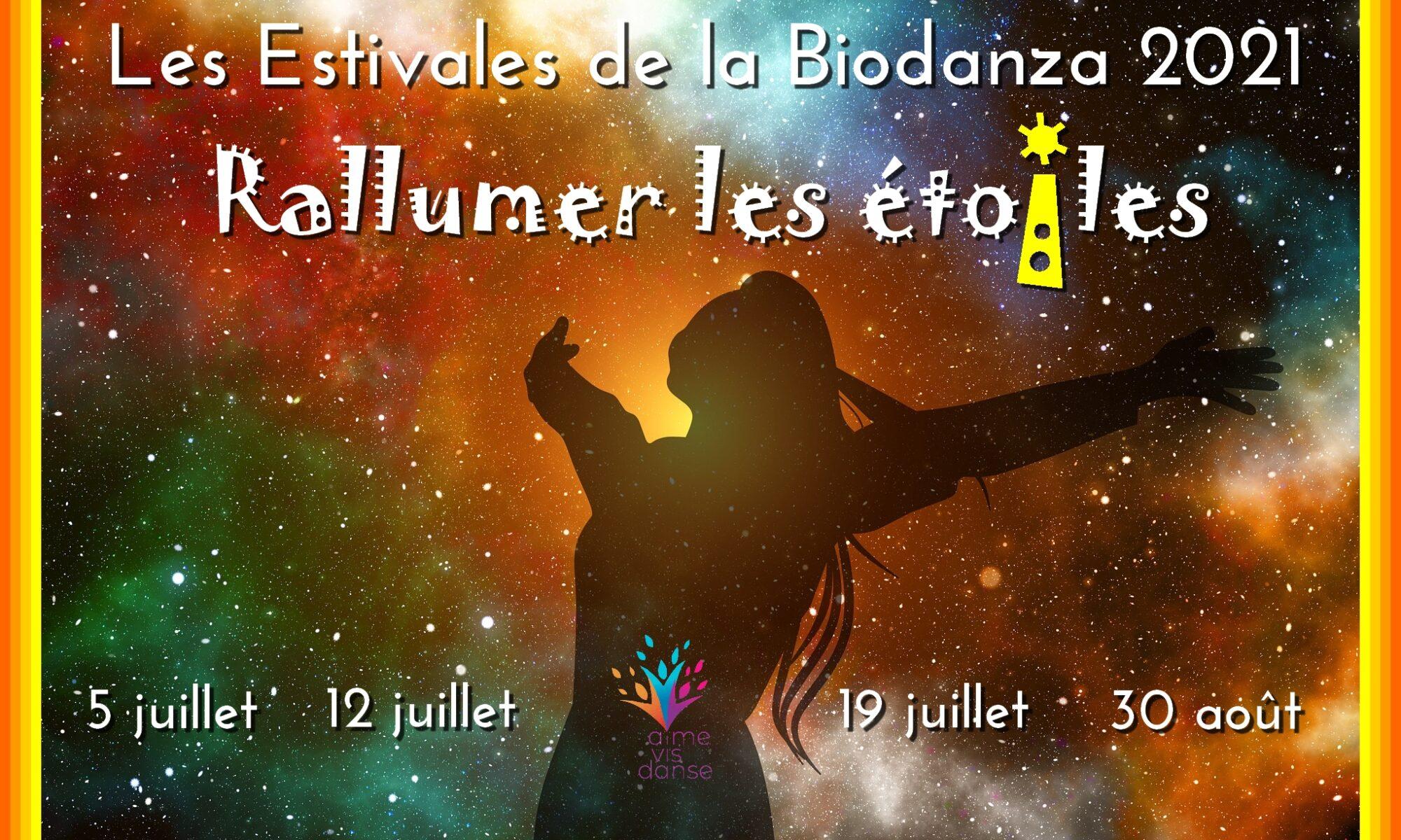 Estivales de Biodanza Bruxelles Juillet août 2021
